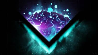 Neon Desktop Backgrounds Background Shapes Attractive Digital