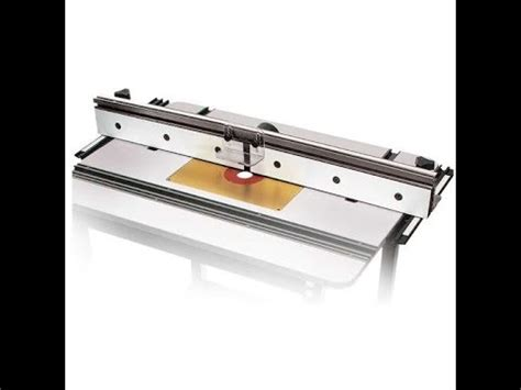 mlcs woodworking  router table fence assembly