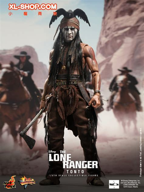 toys mms217 the lone ranger 1 6th scale tonto collectible figure