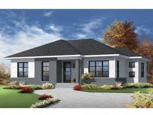 Modern Ranch Home Designs Ideas Photo Gallery by Contemporary House Plans The House Plan Shop