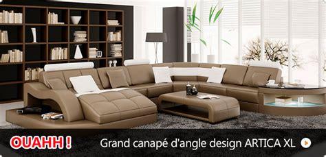grand canape pas cher canapé pas cher canapés et mobilier design à petit prix