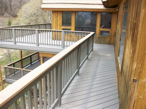 Decking 2x6 Vs 5 4x6 by Decking Materials Trex Decking Materials Composite