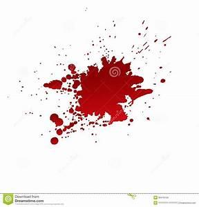 Tache De Couleur Peinture Fond Blanc : taches de sang d 39 isolement sur le fond blanc illustration de vecteur image 39476104 ~ Melissatoandfro.com Idées de Décoration