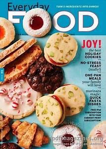 Everyday Food Magazine, December 2012 (recipe index) en 2020 | Comidas al dia, Revistas de ...