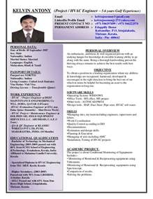 2 Years Experience Mechanical Engineer Resume by 2 Years Experience Mechanical Engineer Resume Mechanical Commissioning Engineer Resume 28 Images