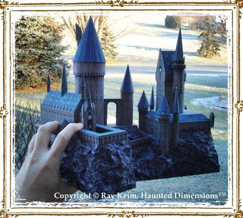 hogwarts paper model kit  ray keim harry potter