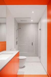 peinture jaune canari pour electriser linterieur de With carrelage adhesif salle de bain avec main courante avec led