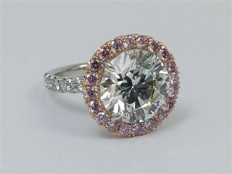 pink diamonds engagement rings from mdc diamonds nyc
