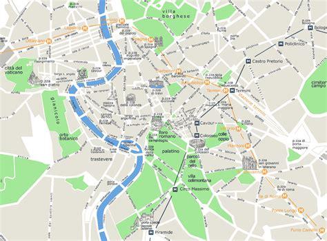 map  rome  italy