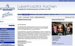 Ausbildungsplätze 2017 Aachen : beruf hebamme ausbildung schulen in nrw ~ Kayakingforconservation.com Haus und Dekorationen