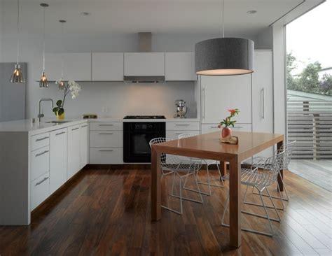 open l shaped kitchen designs cuisine rustique contemporaine 50 id 233 es de meubles en bois 7196