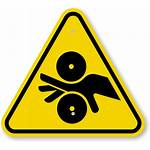 Pinch Point Entanglement Symbol Iso Warning Clipart