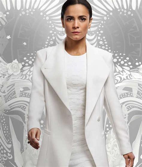 Queen of The South Teresa Mendoza Coat | Alice Braga White ...