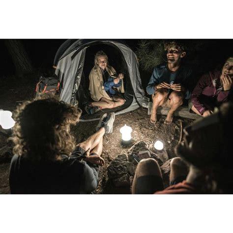 campinglampe bl lumen wiederaufladbar dynamo quechua decathlon