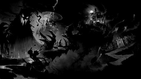 Scary Wallpaper Black And White by 48 Scary Wallpapers Hd 1920x1080 On Wallpapersafari