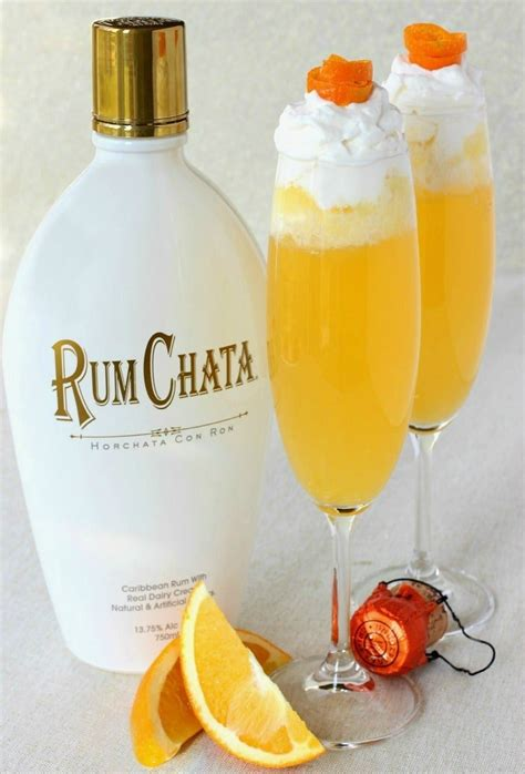 To bring the drink together, all you need to do is shake and strain the liqueurs. RumChata Creamsicle Champagne - Mantitlement