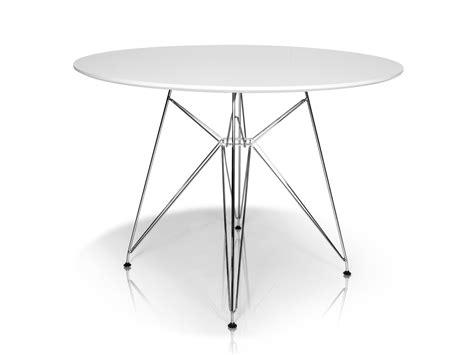 Tisch Rund Weiss by Rolly Tisch Rund 105 Cm Weiss