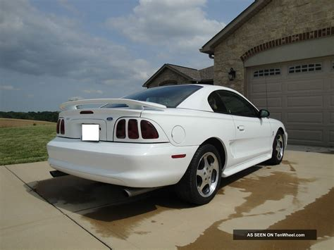 1997 Ford Mustang Svt Cobra Information And Photos