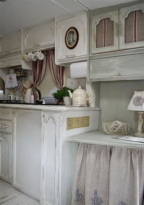 cute shabby chic kitchen design ideas interior god