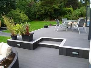 Terrasse Wpc Grau : bildergebnis f r wpc terrasse grau terrasse pinterest terrasse grau und outdoor ~ Markanthonyermac.com Haus und Dekorationen