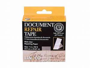 products for documents your store of With lineco document repair tape