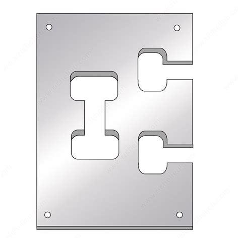 richelieu cabinet hardware template flipbolt cutout template richelieu hardware