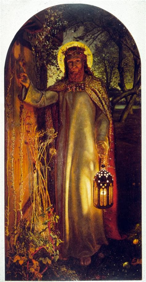 jesus knocking at the door painting this estate we re in open doors inevitable