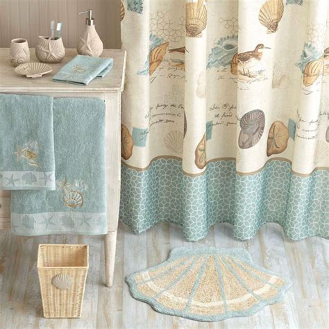 tropical fish shower curtain coastal style decor from walmart fox hollow cottage