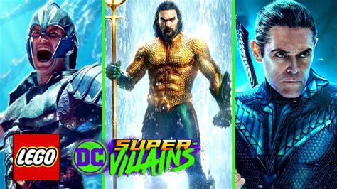 lego dc super villains aquaman  pack part  vulko