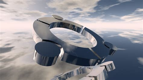 full hd wallpaper circle figure sky futuristic desktop