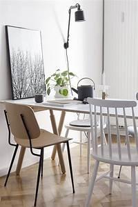Küchen Und Esszimmerstühle : der bunte stil mix dieser k che sorgt f r gem tlichkeit zur platzsparenden esszimmer ~ Orissabook.com Haus und Dekorationen