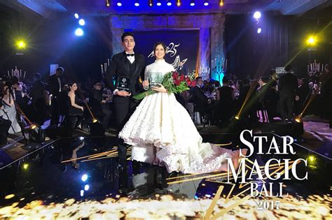julia barretto on star magic ball 2017 kisses delavin liza soberano julia barretto kathryn