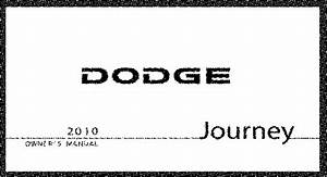2010 Dodge Journey Owners Manual