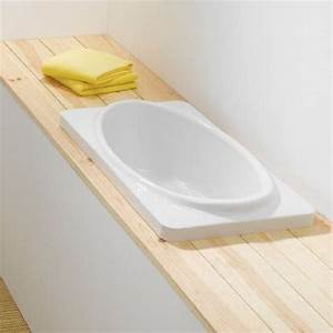 Baignoire Pour Douche Bébé : baignoire pour b b babybath sanindusa 80cm ou 100cm ~ Melissatoandfro.com Idées de Décoration