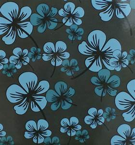 Blue Flower Pattern Background Free Stock Photo - Public ...