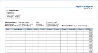 Excel Templates For Expenses Expenditure Report Template Microsoft Excel Templates