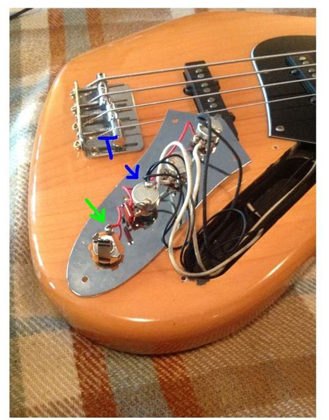 Squier Vintage Modified Jazz Bass Wiring Question