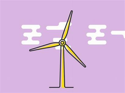 Wind Power Animation Dribbble Graph Graphic Weather