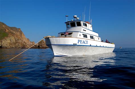 Dive Boat by Dive Boat Peace In Ventura Harbor Ca