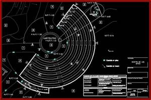 Finishes Plan Amphitheatre DWG Plan For AutoCAD Designs CAD