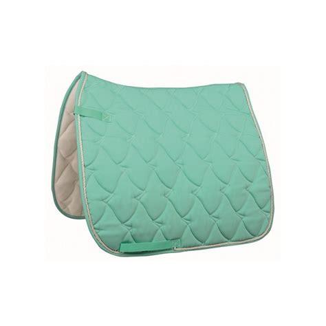 tapis cheval aqua pastel selle mixte ou dressage pas cher