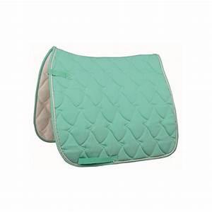 tapis cheval aqua pastel selle mixte ou dressage pas cher With tapis de cheval pas cher