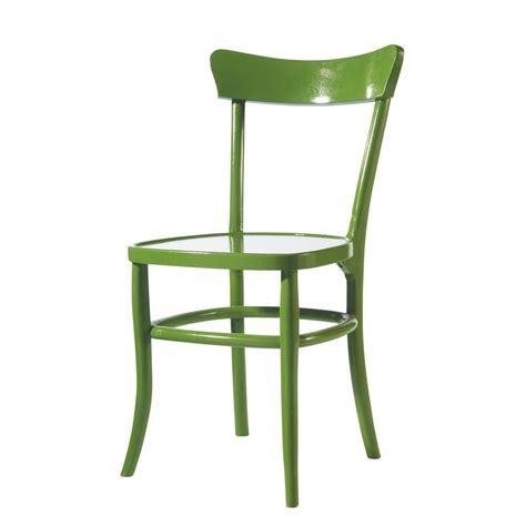 chaises maisons du monde chaise verte bistrot maisons du monde