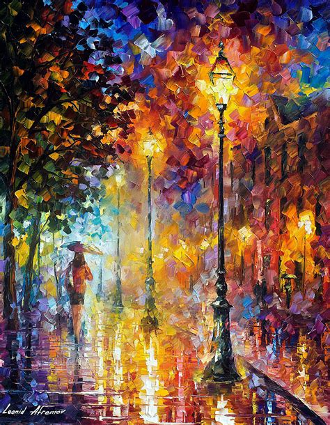 Dream On — Palette Knife Oil Painting On Canvas By Leonid