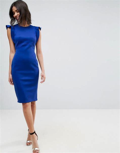asos abendkleider lang blau stylische kleider fuer jeden tag
