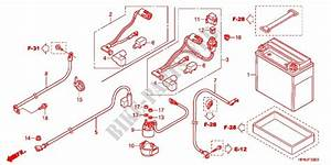 Wire Harness  Battery For Honda Fourtrax Rancher 420 4x4 Ps