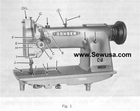 Consew Sewing Machine Threading Diagram