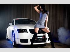 Women Cars Audi TT WallDevil