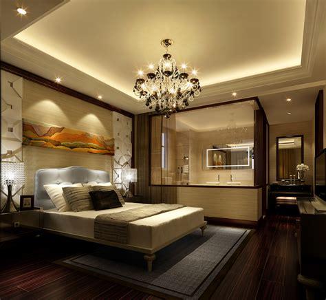 Bedroom With Bathroom 3d Model Max Cgtradercom