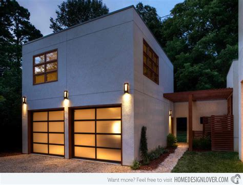 15 Detached Modern And Contemporary Garage Design